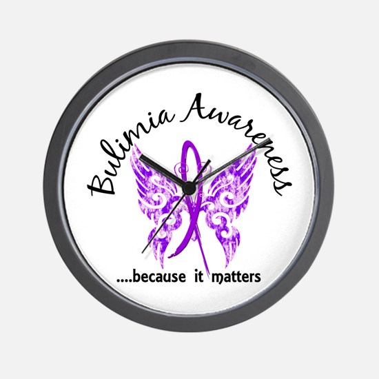 Bulimia Butterfly 6.1 Wall Clock