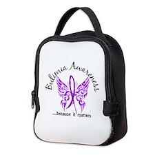 Bulimia Butterfly 6.1 Neoprene Lunch Bag