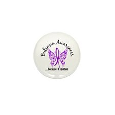 Bulimia Butterfly 6.1 Mini Button (10 pack)