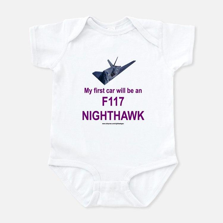F117 Nighthawk Infant Bodysuit