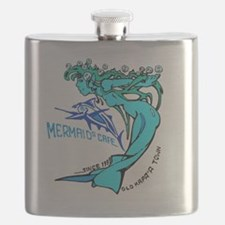 Mermaids Cafe Kauai  Flask