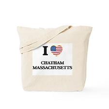 I love Chatham Massachusetts USA Design Tote Bag