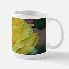 Yellow rose flower in bloom in garden Mugs