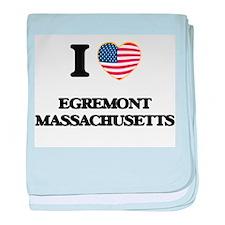 I love Egremont Massachusetts baby blanket
