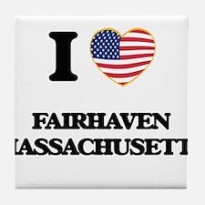 I love Fairhaven Massachusetts Tile Coaster