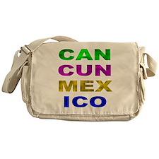 Cancun Mexico Messenger Bag