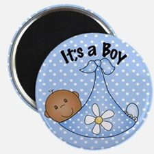 It's A Boy African American Magnet