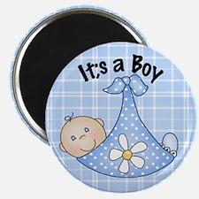 It's A Boy Baby Bundle Magnet