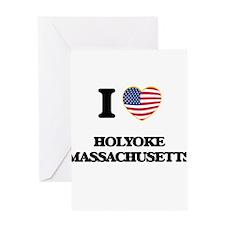 I love Holyoke Massachusetts Greeting Cards