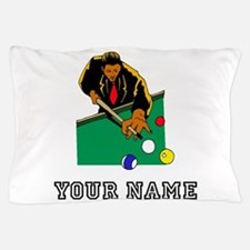 Billiards Player (Custom) Pillow Case