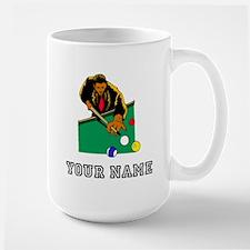 Billiards Player (Custom) Mugs