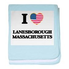I love Lanesborough Massachusetts baby blanket