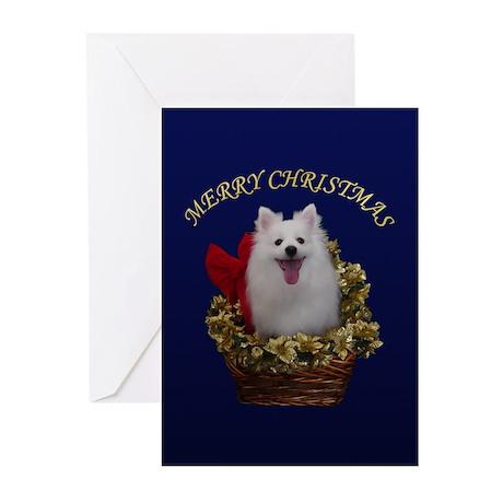 American Eskimo Dog Greeting Cards (Pk of 20)