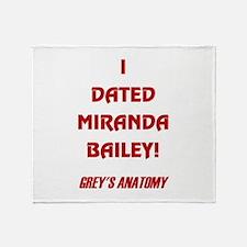 MIRANDA BAILEY Throw Blanket
