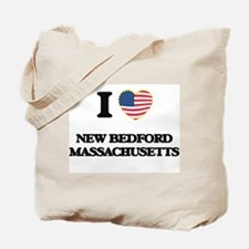 I love New Bedford Massachusetts Tote Bag