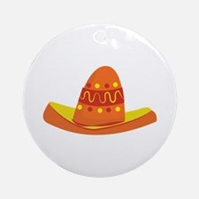 Mexican Hat Ornament (Round)