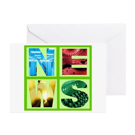 News Greeting Cards (Pk of 20)