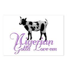 Nigerian Goat Gotta love'em Postcards (Package of