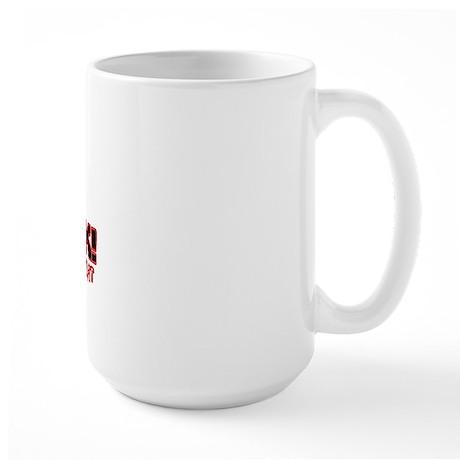 Get BACK! you dont know me li Large Mug