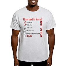 PleaseID-BW T-Shirt