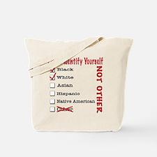 PleaseID-BW Tote Bag