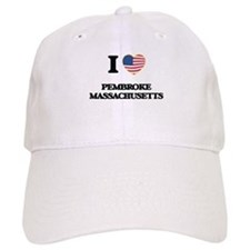 I love Pembroke Massachusetts Baseball Cap