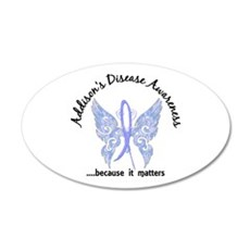 Addison's Disease Butterfly Wall Decal