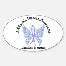 Addison's Disease Butterfly 6.1 Decal