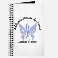 Addison's Disease Butterfly 6.1 Journal
