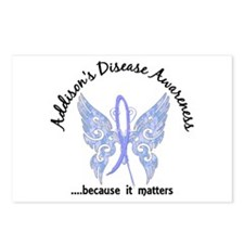 Addison's Disease Butterf Postcards (Package of 8)
