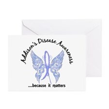 Addison's Disease Butter Greeting Cards (Pk of 10)