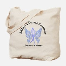 Addison's Disease Butterfly 6.1 Tote Bag