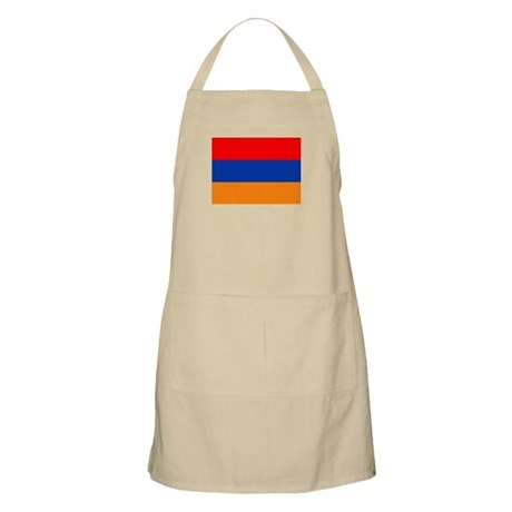 Armenian Flag BBQ Apron