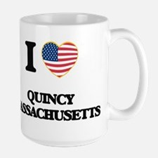 I love Quincy Massachusetts Mugs