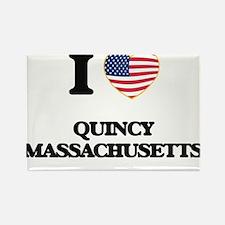 I love Quincy Massachusetts Magnets