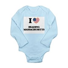 I love Reading Massachusetts Body Suit