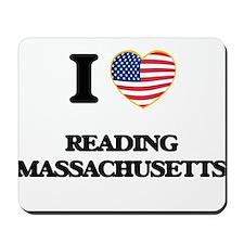 I love Reading Massachusetts Mousepad