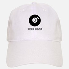 Black Eight Ball (Custom) Baseball Cap
