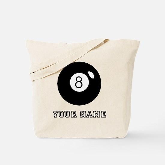 Black Eight Ball (Custom) Tote Bag