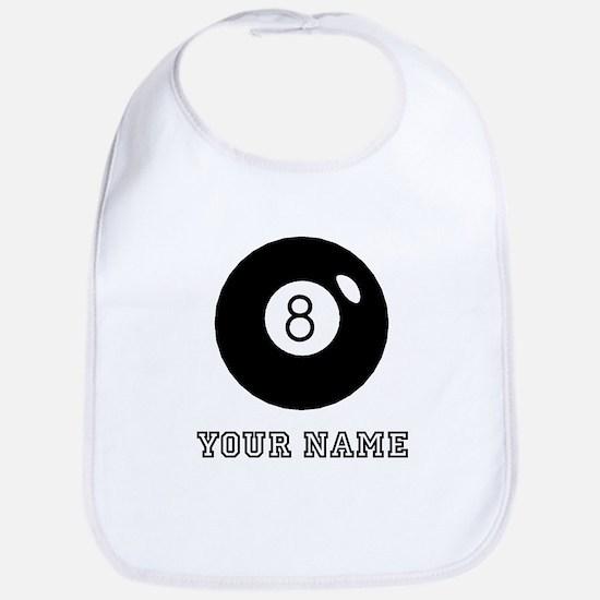 Black Eight Ball (Custom) Bib