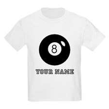 Black Eight Ball (Custom) T-Shirt