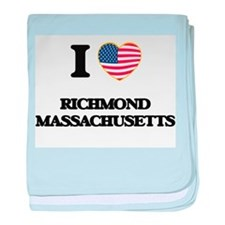 I love Richmond Massachusetts baby blanket