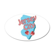 Jersey City Wall Decal