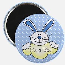 It's A Boy Blue Bunny Magnet
