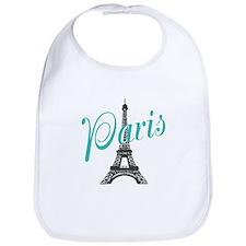 Vintage Paris Eiffel Tower Bib
