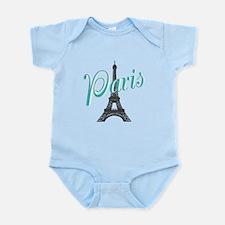 Vintage Paris Eiffel Tower Body Suit