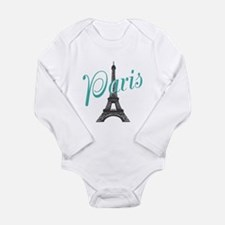 Vintage Paris Eiffel Tower Body Suit