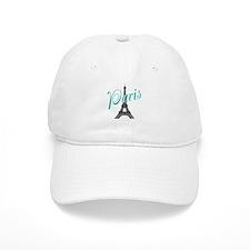 Vintage Paris Eiffel Tower Baseball Baseball Cap