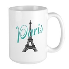 Vintage Paris Eiffel Tower Mugs