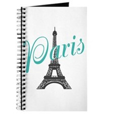 Vintage Paris Eiffel Tower Journal